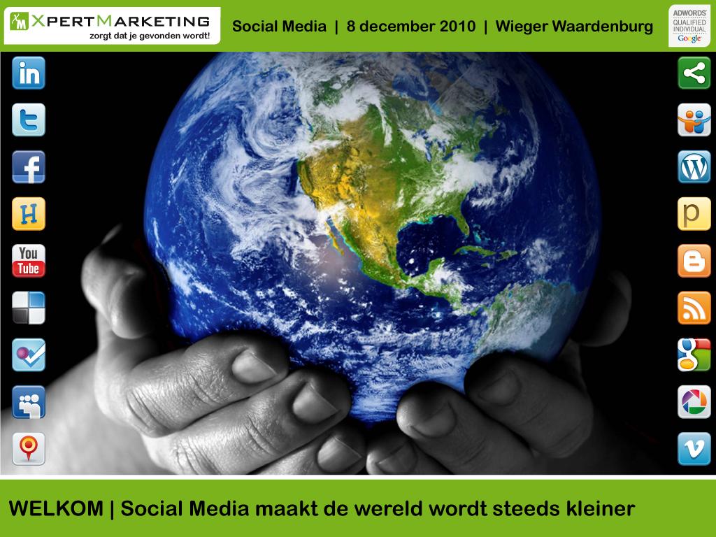 Presentatie Social Media met tips, trends en cijfers