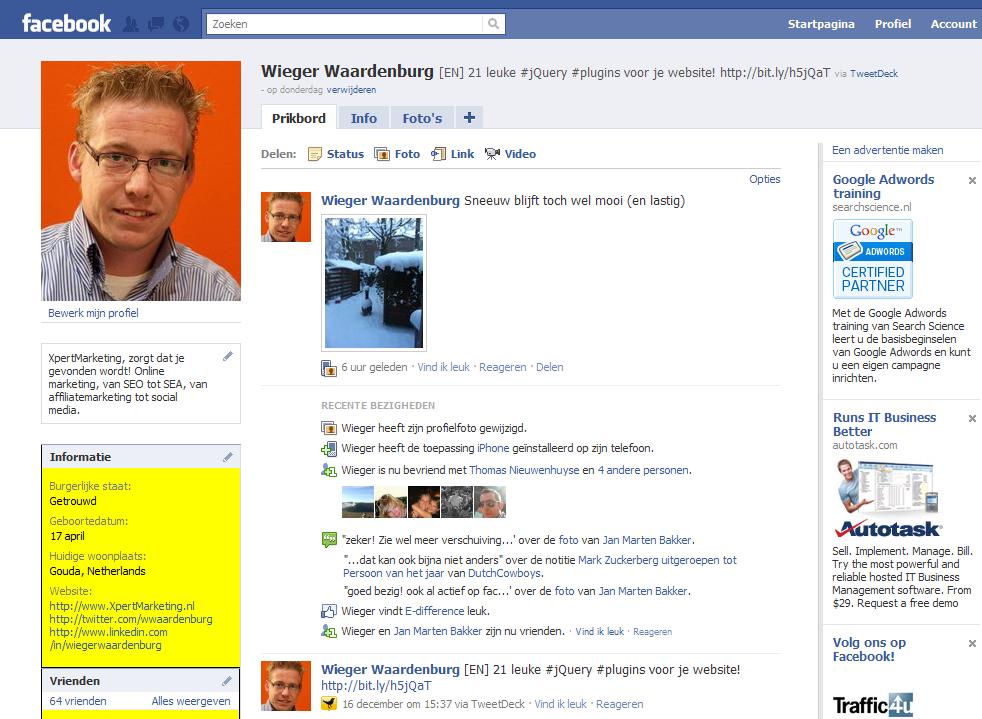 Adverteren op Facebook - adverteer ook op facebook!