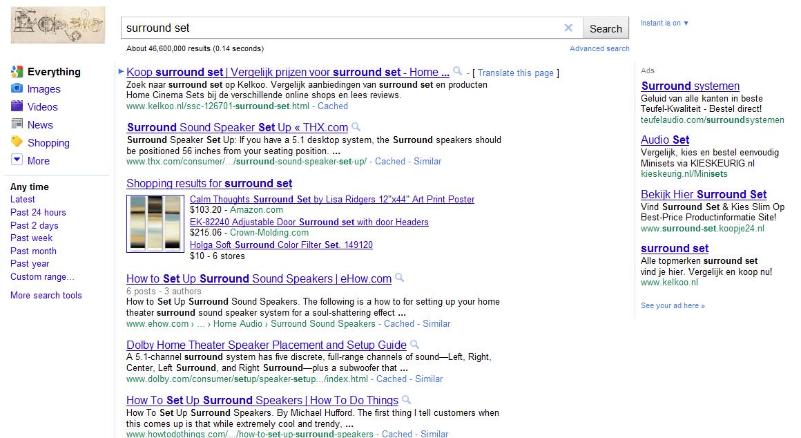 Google Shopping, kans of bedreiging?
