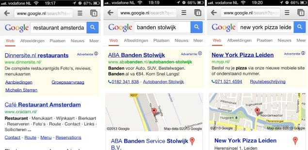 Mobiel adverteren Google AdWords - mobiele extensies voor Google AdWords advertenties
