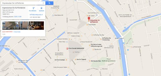 Nieuwe versie Google Maps