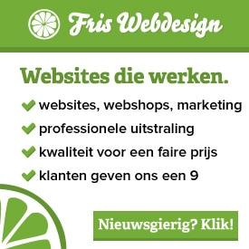 Fris Webdesign Gouda - voor websites en webshops