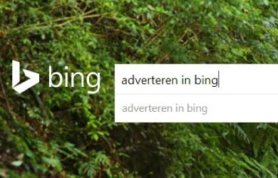 Adverteren in Bing? Dat biedt zeker kansen. Beoordeel met deze informatie zelf of adverteren in Bing iets voor u is.