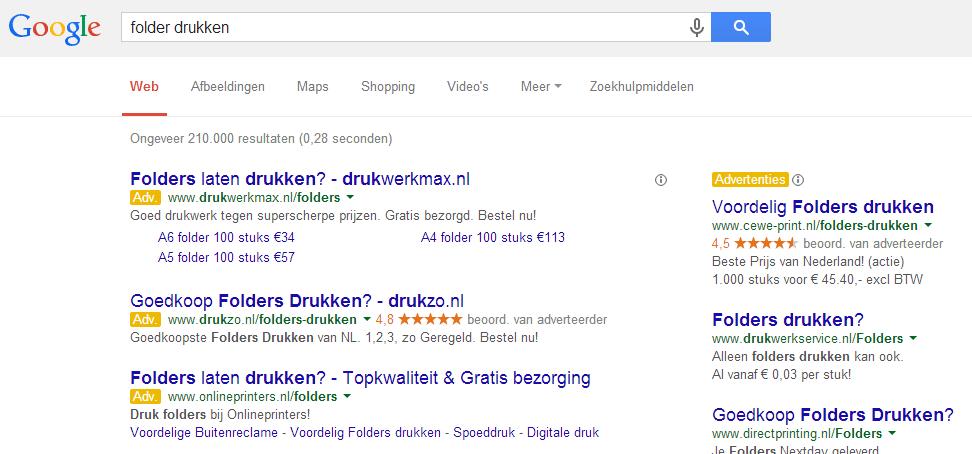 Dynamic Sitelinks in Google AdWords