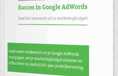 Whitepaper Google AdWords Analyseren en verbeteren